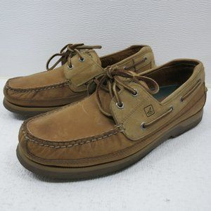 Sperry Leather Casual Deck Boat Top-Sider Mako 11